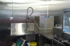12 Metre Kitchen Outside