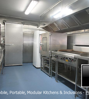 Portable Kitchens Hire